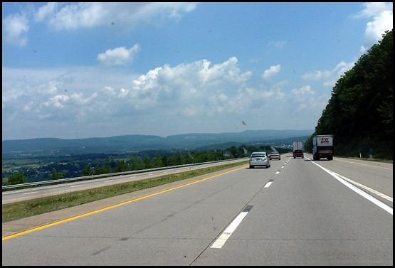 6 - I81 north of Harrisburg, PA