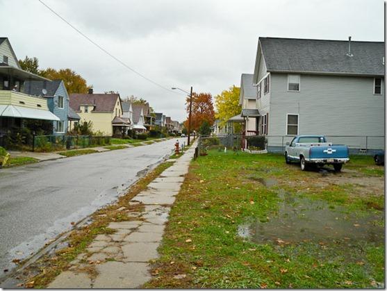 Redell Ave looking east<br /><br />http://maps.google.com/maps?q=41.51654833,-81.63680833&spn=0.001,0.001&t=k&hl=en