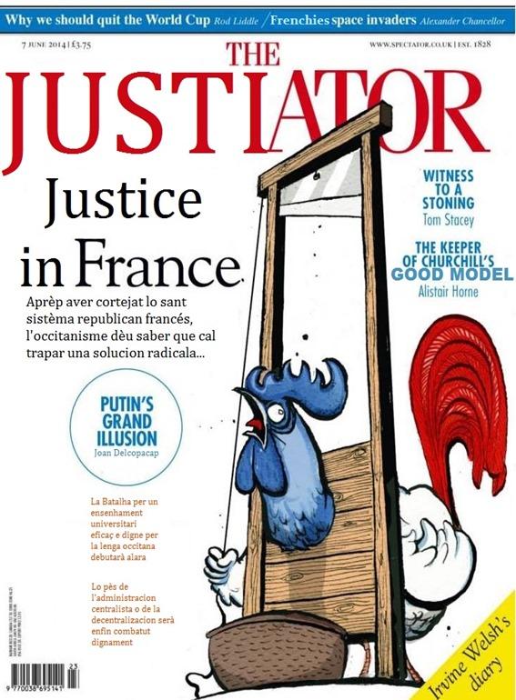 Portada de Justiator République française