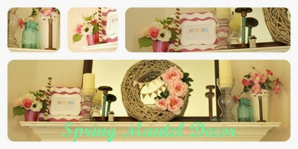 Springmantel decor small