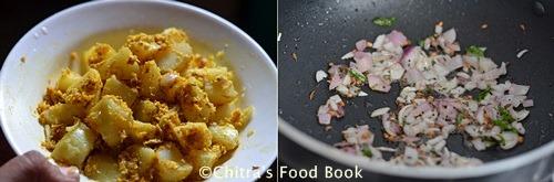 potato poriyal step-1