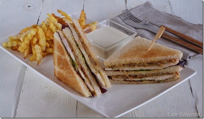 sandwich pollo mostaza espe saavedra
