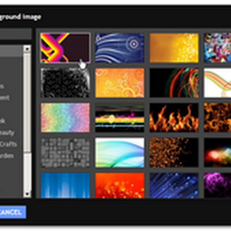 Personalizza il tuo blog con Designer Modelli di Blogger.