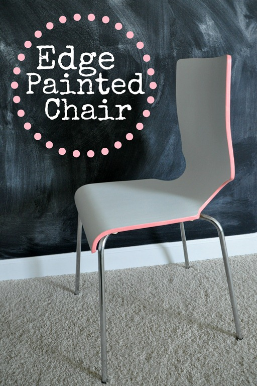 Edge Painted Chair