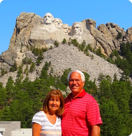 us at Mt. Rushmore
