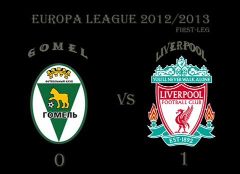 Gomel v Liverpool Europa League 2012