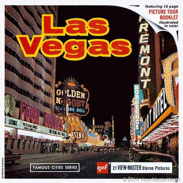 View-Master Las Vegas Nevada A159 Packet Cover