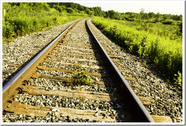 Bradford rail tracks