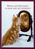 mirror_cat_as_lion