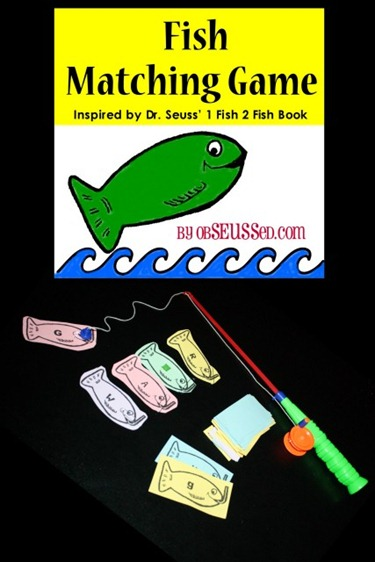 Printable Fish Alphabet game obSEUSSed