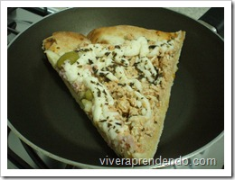 Pizza Requentada