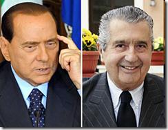 Silvio Berlusconi - Carlo De Benedetti