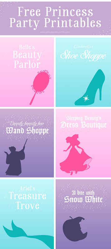 Free Princess Printables, Princess Party, Sleeping Beauty DVD, Princess Makeover