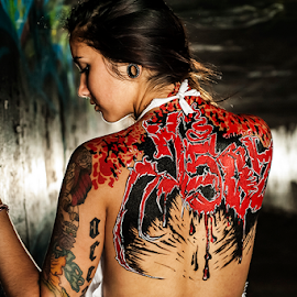Ricky Flanigan by Charles Lugtu - People Body Art/Tattoos ( person, people, tattoo )