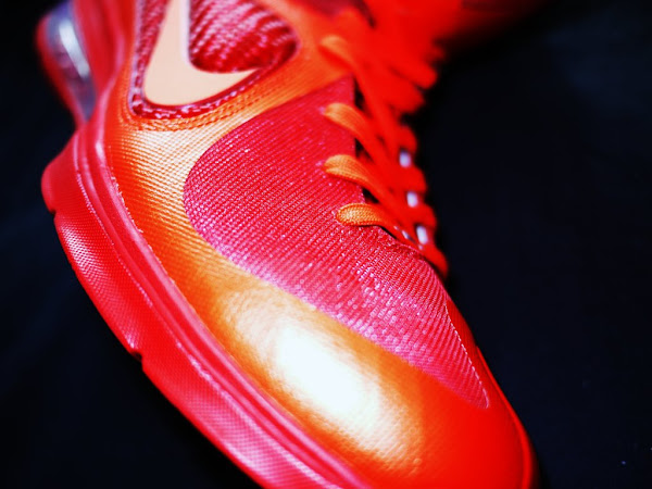 Nike LeBron 9 iD Showcase 8220Super Flame8221 by HLeung