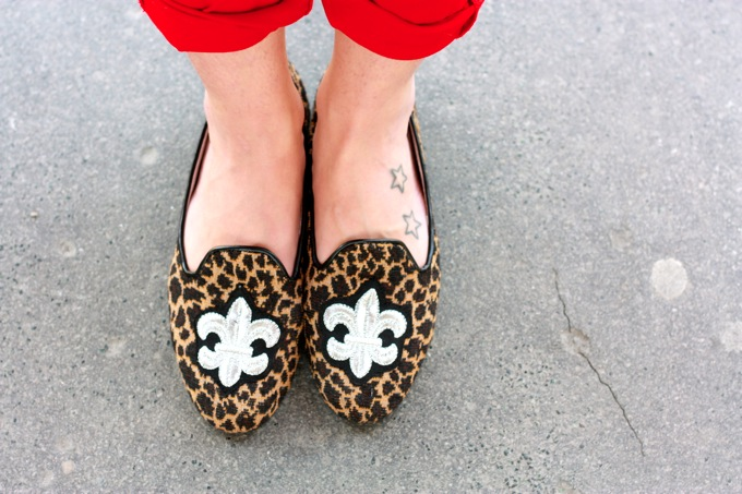 leopard slippers asos, outfit