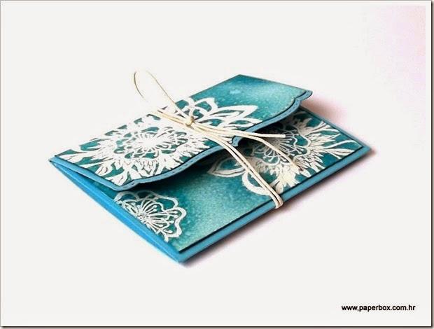 Čestitka za poklon bon (2) - Gutscheinverpackung