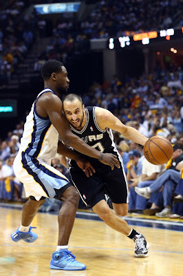 wearing brons nba lebron10 prism manu ginobili 03 Will Manu Ginobili Lace Up His Favorite LeBrons in the NBA Finals?