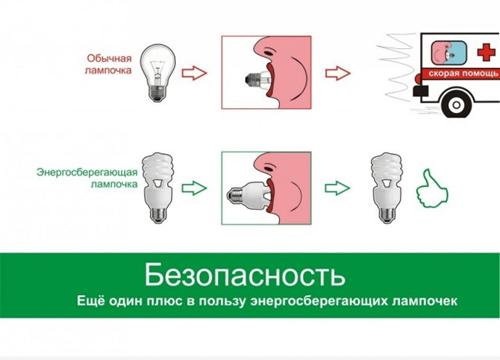 За энергосберегающие лампочки!
