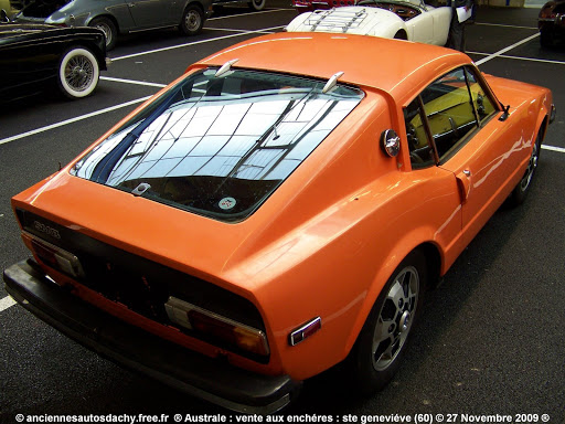 This 1972 SAAB Sonett III is