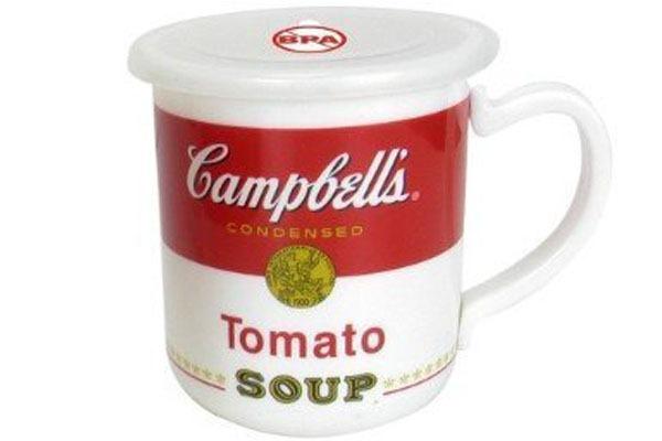 tomato-soup campbell's-caneca