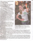My sister just won the best female bartender award, from the Newport Mercury