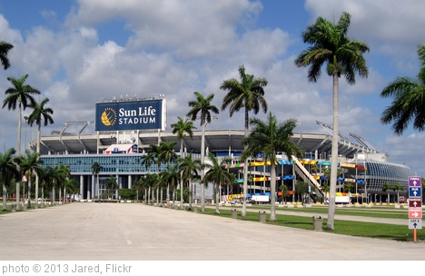 'Miami Gardens - Sun Life Stadium (2)' photo (c) 2013, Jared - license: http://creativecommons.org/licenses/by/2.0/