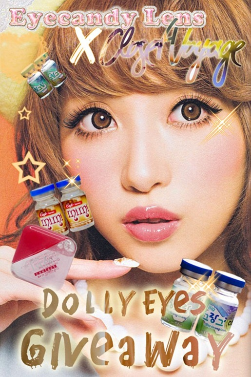 Eyecandylense Dolly Eyes Giveaway