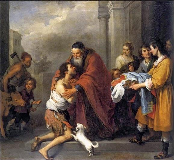 O regresso do filho prodigo-pintura-murillo