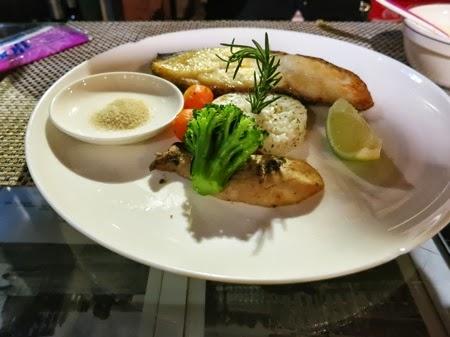 Dinner at Shangrila