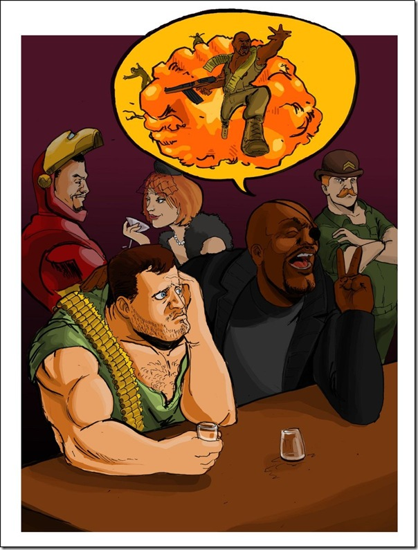 Nick Fury,Nicholas Joseph,Samuel L. Jackson, David Hasselhoff (20)