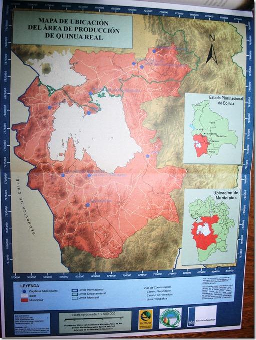 Mapa de Ubicación del Area de Producción de Quinua Real-Gutierrez, Z._RM