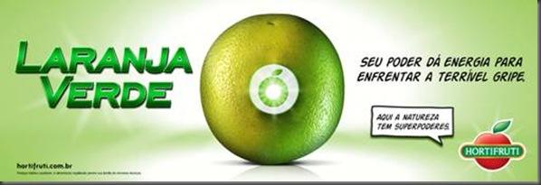 Hortifruti Laranja Verde Campanha