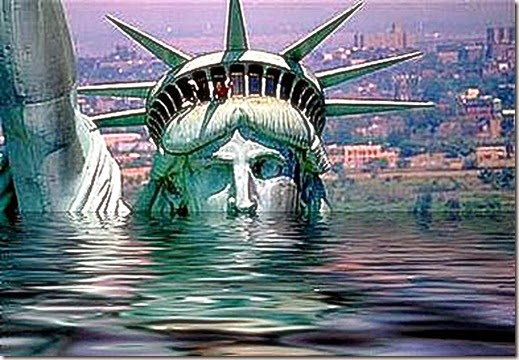 Lady Liberty Drowning in Decay