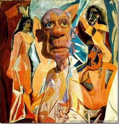 Caricatura Pablo Picasso