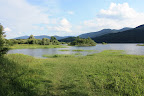 The intermittent Cerknica lake - the largest lake in Slovenia, when its there, of course.
