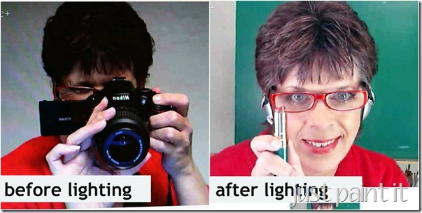 DIY video lighting 21