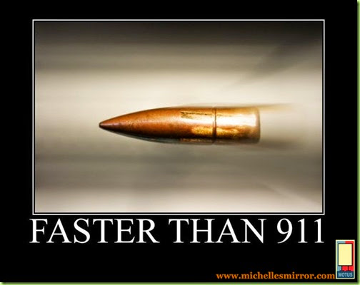 gun bullet faster than 911 WM