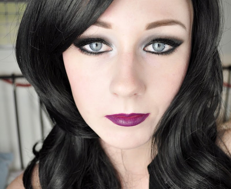 haunted mansion inspired makeup look liberty square2