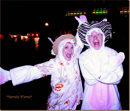 husband and i as raving rabbid weirdos bwaaaaaaaaaaa - Raving Rabbids Halloween Costume