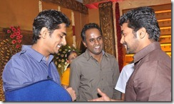 Siddharth, Suriya at Mirchi Shiva Wedding Reception Stills