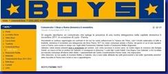i boys spiegano loro presenza a roma il 6 novembre