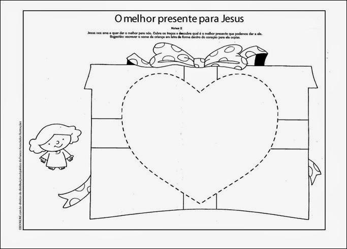 Suficiente Pescadores de Pequeninos: Lição 4: Presentes Para Jesus BG81