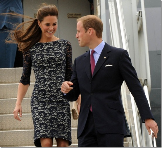 Canada-Tour-Arrival Kate Middleton Erdem Cecile