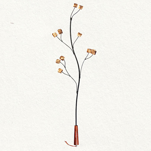 This adorable twig marshmallow roaster will get lots of use all summer long. (shopterrain.com)