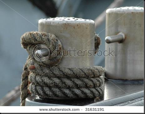 enrolando a corda