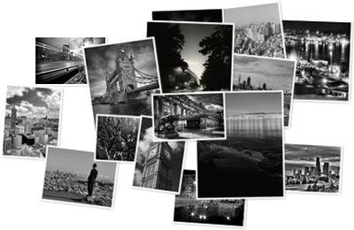 Visualizza Fotografii de orase in alb si negru