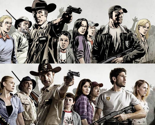 9- The Walking Dead