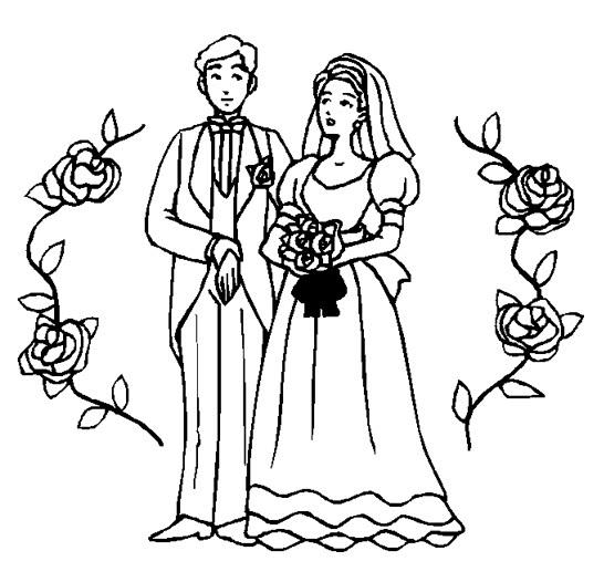 Matrimonio Catolico Para Dibujar : Novios dibujados imagui