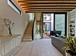 Diseño de vivienda sostenible con certificación LEED Platinum.